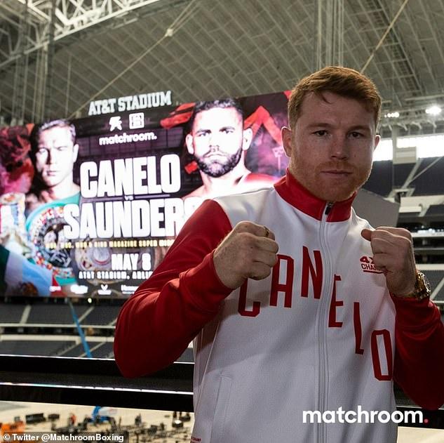 Álvarez dijo que peleará con cualquiera, en cualquier lugar y tal vez Saunders se esté poniendo nervioso