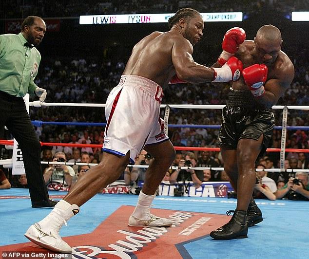Lewis se reiría por última vez y repartiría una paliza brutal en ocho rondas de castigo.