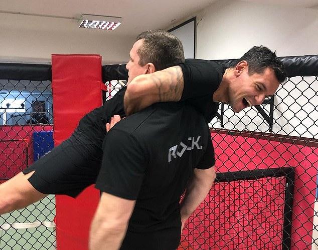 La leyenda del MMA ha sido adoptada por las fuerzas especiales croatas y ha peleado en la división de peso pesado.