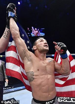 Según los informes, Michael Chandler (Michael Chandler) será titulares de UFC 262 en mayo.