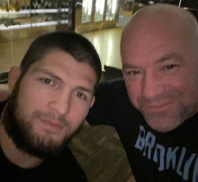 Dana White publicó una foto con Khabib Nurmagomedov y confirmó su retiro