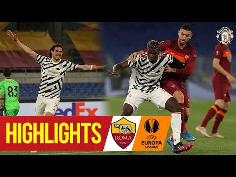 El doblete de Cavani asegura el puesto en la final de la UEFA Europa League    AS Roma 3-2 Manchester United