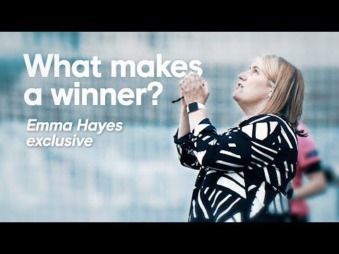 ¿Qué hace a un ganador?  |  Emma Hayes habla de sus monstruos de mentalidad e inspira a la próxima generación