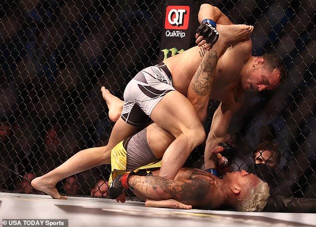 Chandler elogió a su oponente después de la pelea y reveló lo emocionado que estaba en la pelea.