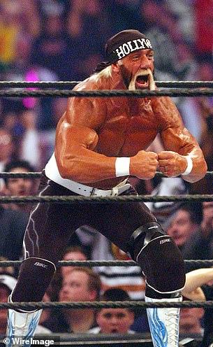 ¡Harcania! El verdadero nombre de Holk Hogan es Terry Bollea, tomado en WrestleMania 18 en Toronto en marzo de 2002.