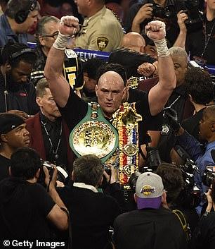 El titular del cinturón de WBC y Ring Magazine, Fury, solo se enfrentará a AJ si todos los títulos están en juego dadas las circunstancias actuales.