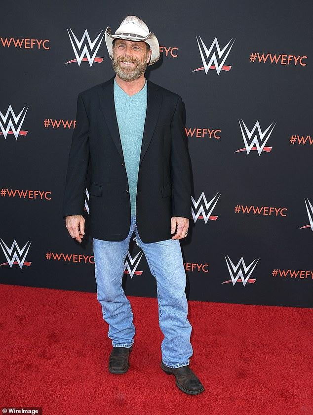 Leyenda de la WWE: Bronson ha estado trabajando entre bastidores con algunas de las mejores personas de la industria. Su mentor en el WWE Performance Center en Florida no es más que una leyenda de la lucha libre retirada y cuatro veces campeón mundial de la WWE, Shawn Michaels (foto tomada en 2018)