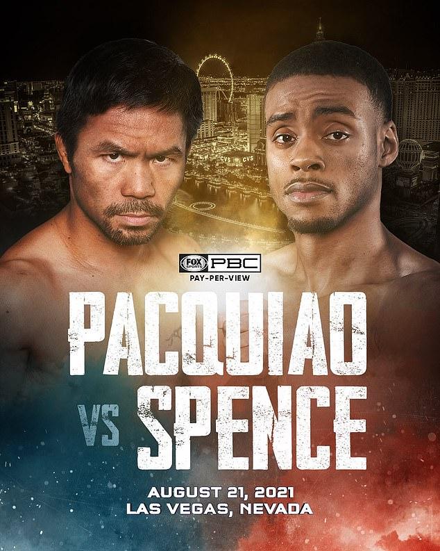 El filipino confirmó en Twitter enfrentamiento con el campeón de peso welter en Las Vegas