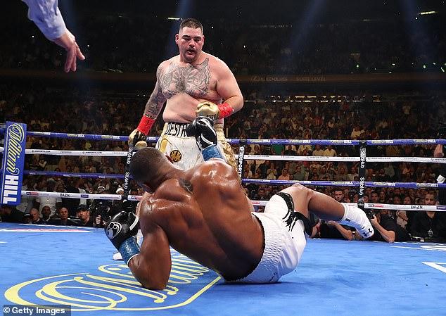 La victoria de Andy Ruiz Jr contra Joshua en junio de 2019 provocó conmoción en todo el mundo del deporte