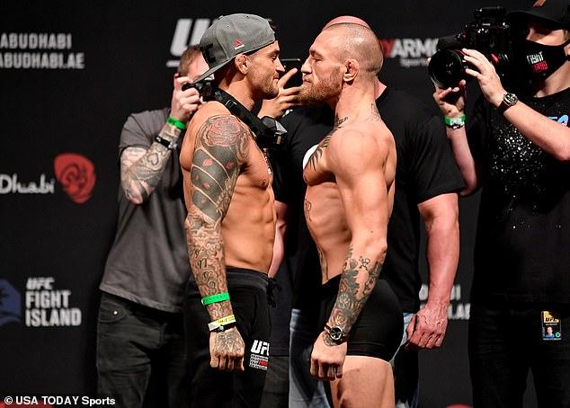 La pareja jugará su tercer partido en UFC 264 el 10 de julio, esta vez en Las Vegas.