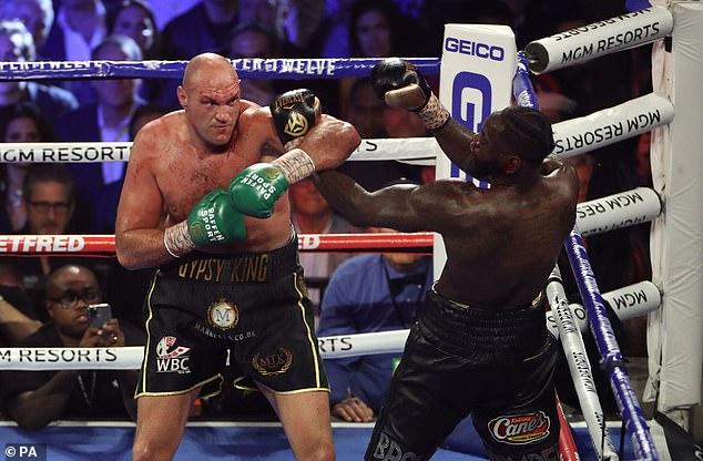 Fury completará su pelea de trilogía contra Deontay Wilder el 24 de julio en Las Vegas