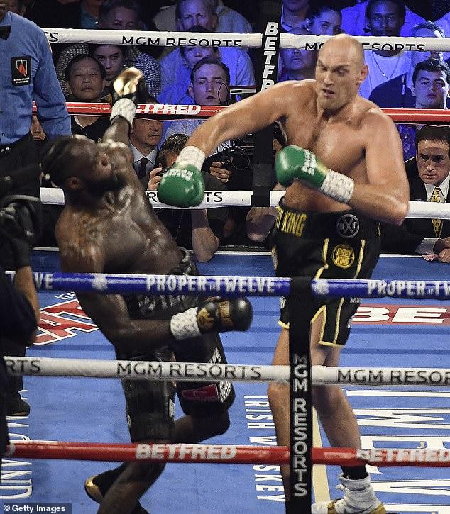 Wilder está ansioso por vengarse de Fury luego de su derrota en el séptimo asalto en febrero de 2020