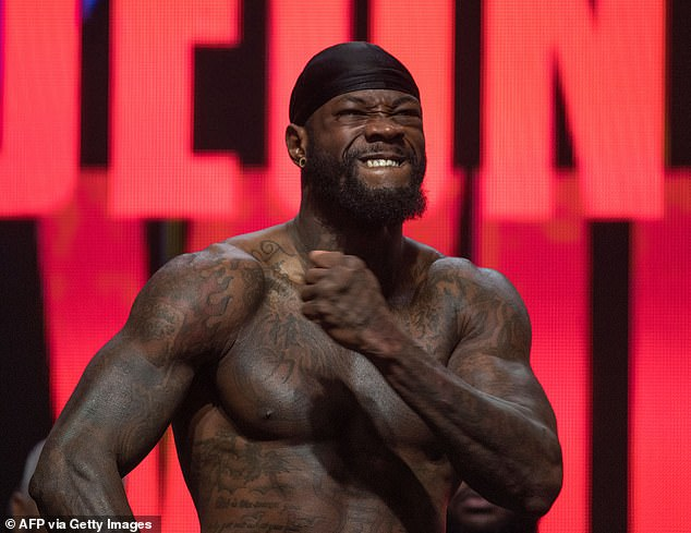 Deontay Wilder ha llamado a Tyson Fury un 'cobarde' por 'tratar de evitar' una pelea de trilogía