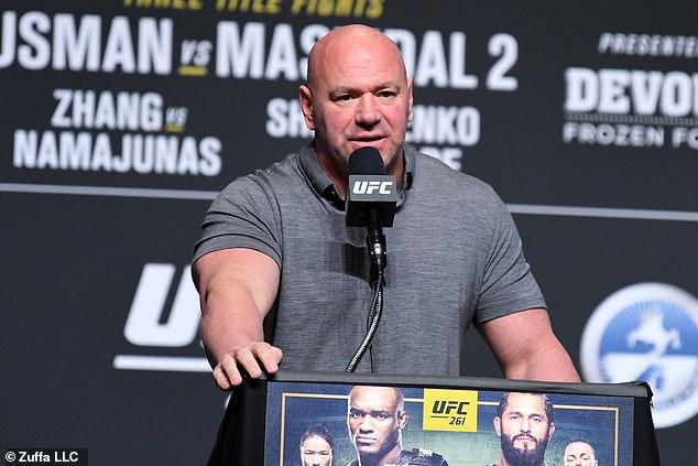 El presidente de UFC, Dana White, no cortó sus palabras cuando se dirigió a Jake Paul de YouTuber
