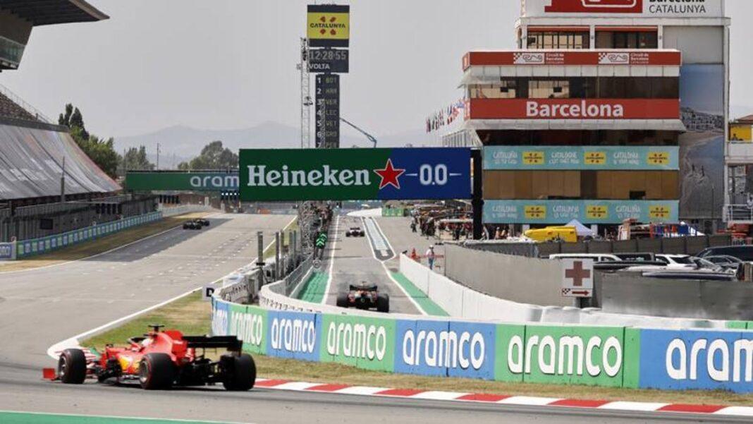 F1, 1000 espectadores en el GP de España en la grada con máscara