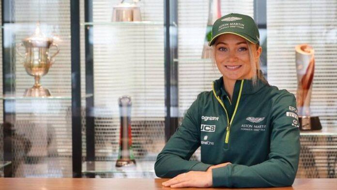 F1, Aston Martin: Jessica Hawkins, nueva embajadora de los pilotos del equipo