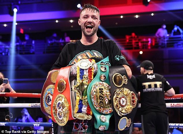 Josh Taylor derrotó a José Ramírez para convertirse en el primer campeón mundial indiscutible de Gran Bretaña en la era de los cuatro cinturones.
