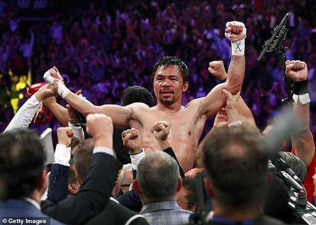 Manny Pacquiao ha anunciado que peleará contra Errol Spence Jr el 21 de agosto después de dos años fuera
