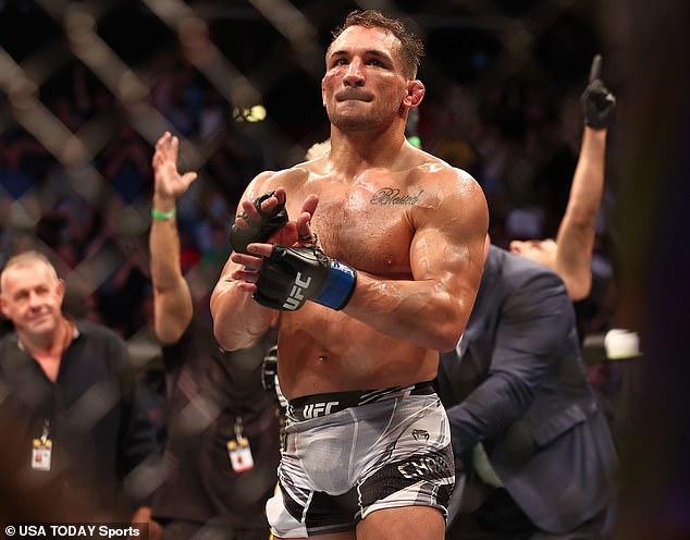 Michael Chandler se mantuvo positivo después de perder ante Charles Oliveira en el UFC 262 en Texas.