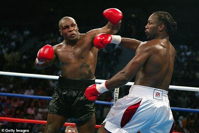 Mike Tyson y Lennox Lewis tienen historia después de su brutal choque de peso pesado en 2002