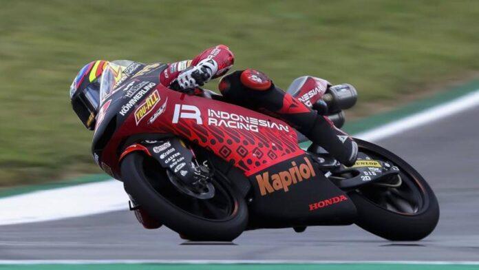 Moto3, libre 2: a la cabeza Rodrigo, luego Binder.  4º Antonelli, solo 18 Acosta!