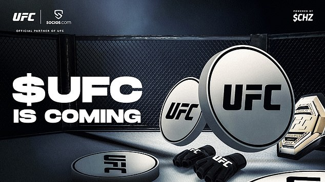 UFC anuncia asociación con Socios de proveedores de blockchain para su lanzamiento en junio