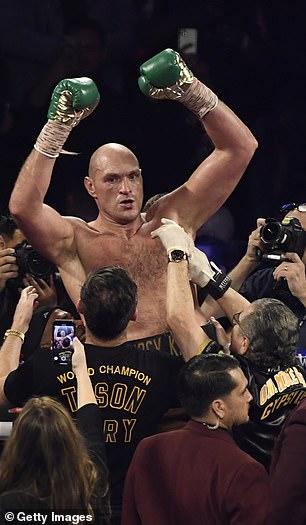Furia del campeón del CMB