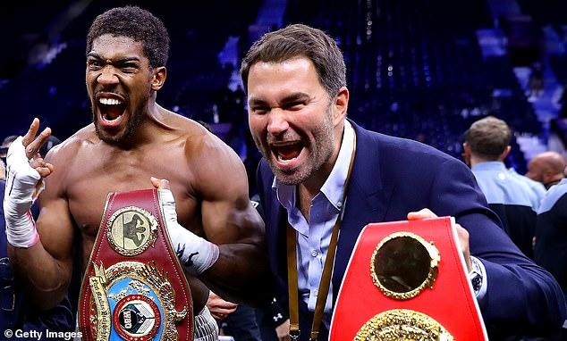 Los campeones mundiales Anthony Joshua no están incluidos en el trato, aunque Hearn espera que su relación profesional continúe durante el resto de su carrera en el boxeo.