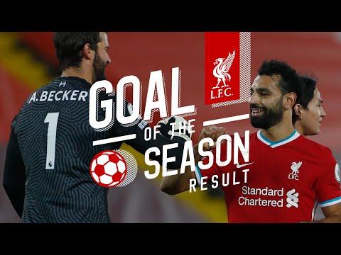 Resultado del gol de la temporada del Liverpool    Los 5 mejores goles 2020/21