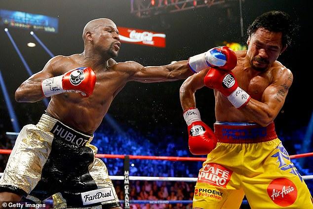 La pelea de Mayweather con Pacquiao encabeza las listas de PPV con 4.6 millones de compras, empequeñeciendo los datos del domingo