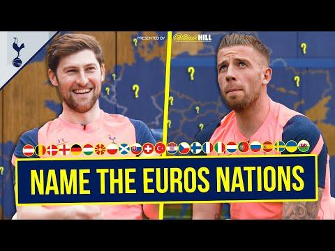 ¿Pueden Toby Alderweireld y Ben Davies nombrar CADA nación de la Eurocopa 2020?