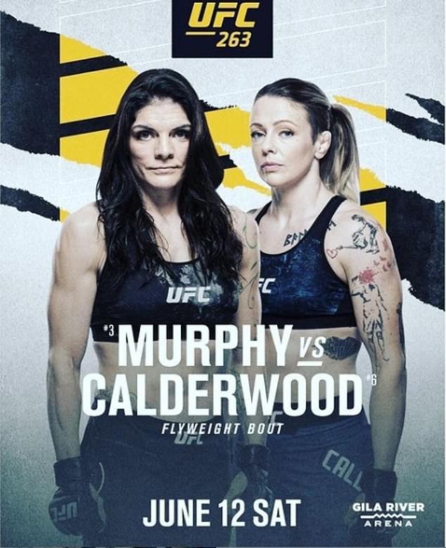 Joanne Calderwood (derecha) cree que ganar a Lauren Murphy le dará una oportunidad por el título