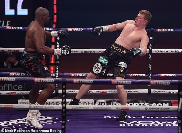 El hombre de 41 años venció a Dillian Whyte en su segunda pelea, antes de perder su revancha en 2021.