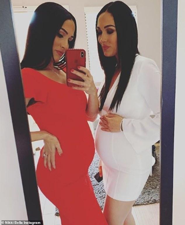 ¡Doble problema! Nikki y su hermana Brie están deseando que llegue, las fechas de las dos fechas están separadas por solo dos semanas
