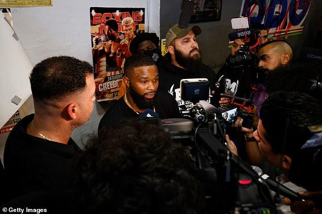 El ex campeón de peso welter dijo que ganará su mayor paga en la historia contra Paul.