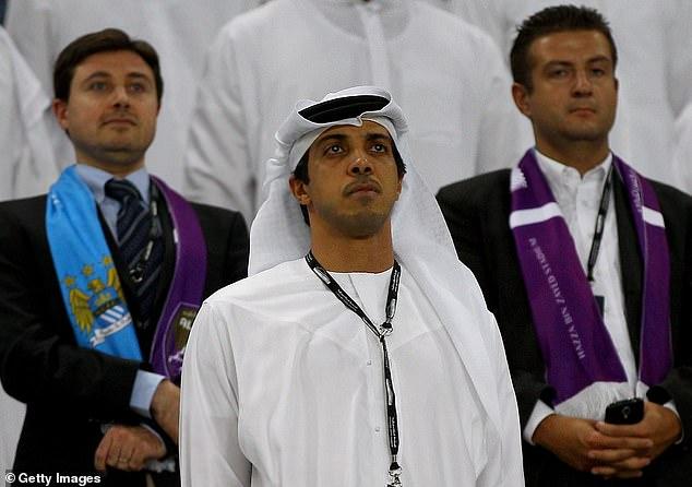 También reveló que es un amigo cercano del propietario del Manchester City, Sheikh Mansour.