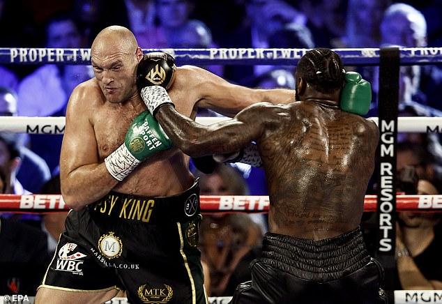 Fury admite que le sorprendió la fácil victoria sobre Wilder en Las Vegas