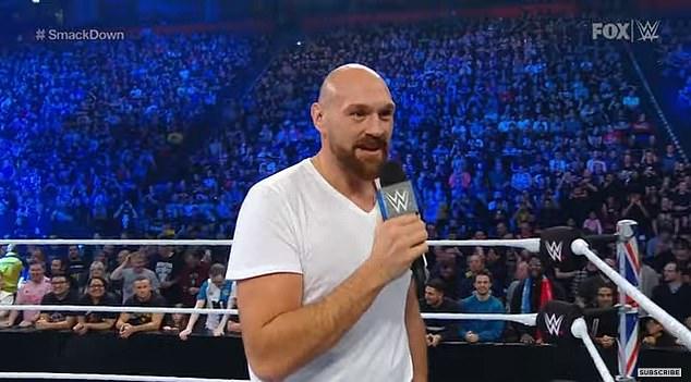 El Rey Gitano felicitó a McIntyre por su reciente victoria y aceptó su oferta para pelear