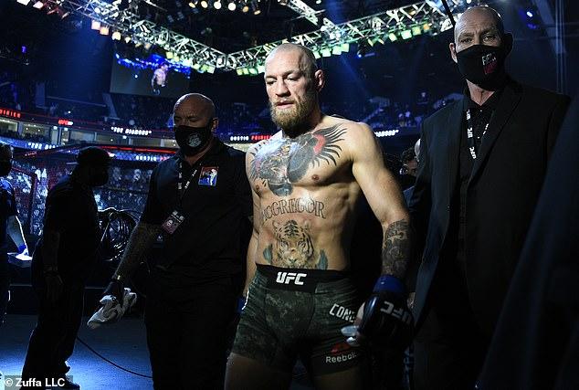 McGregor no mantuvo sus ojos fijos en el objetivo cuando llegó a Battle Island antes de UFC 257