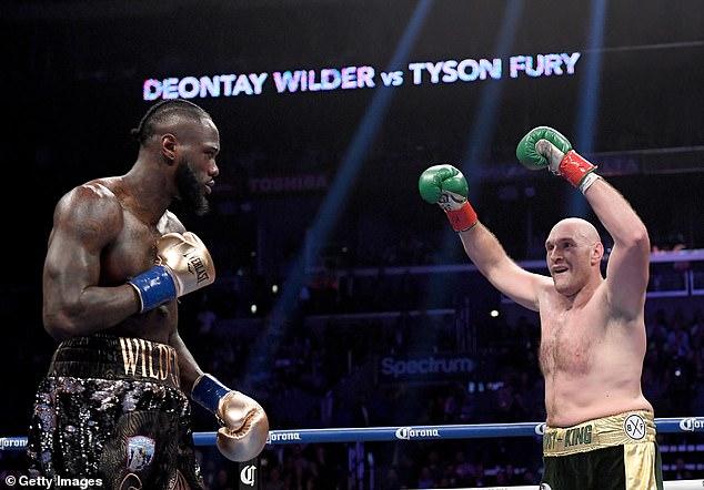 Está luchando para restaurar sus títulos mundiales, así como el orgullo que Fury le quitó en febrero pasado.