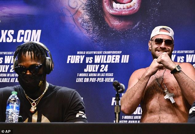 Wilder admite que 'odia' a Fury y que su estado de ánimo es 'violento' mientras planea su caída el 24 de julio