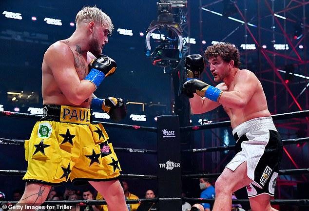 Paul derrota a Ben Asclen, compañero de Woodley, ex luchador de UFC en su última pelea en el nocaut.