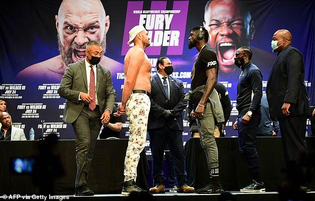 Los rivales de peso pesado de AJ, Fury y Wilder, pelean nuevamente por tercera vez en Las Vegas el próximo mes