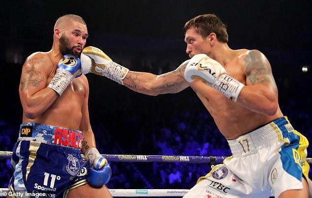 El ex campeón de peso crucero fue noqueado por el próximo oponente de AJ, Oleksandr Usyk.