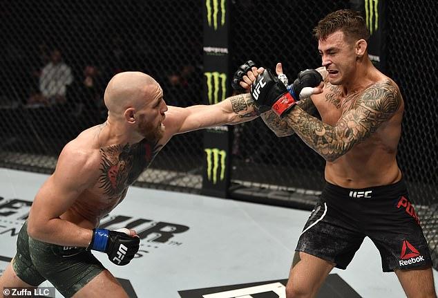 Los oponentes de peso ligero pelearán por tercera vez en UFC 264 en Las Vegas el 10 de julio.