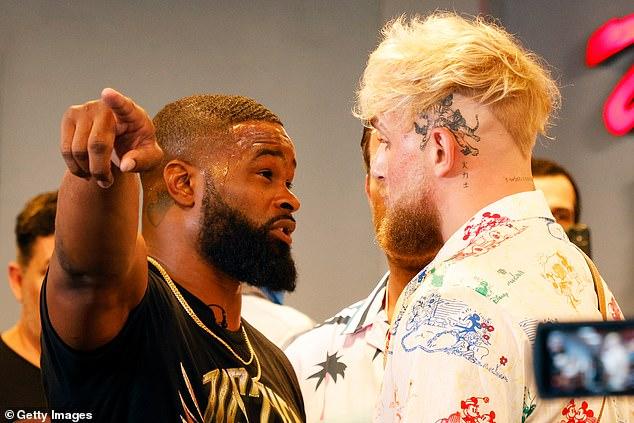 Pero el ex campeón de UFC Woodley está buscando una victoria por nocaut sobre Paul en tres rondas
