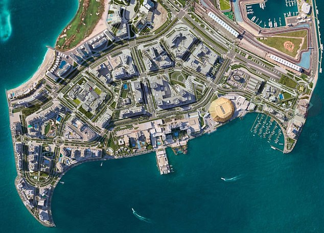 White ve la isla de Yas en Abu Dhabi como una potencial capital de batalla para el mundo