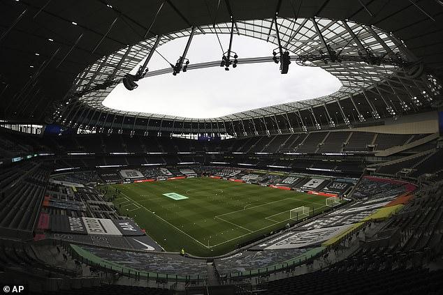 El estadio de € 1 billón de Tottenham Hotspur es el favorito para albergar el enfrentamiento de peso pesado