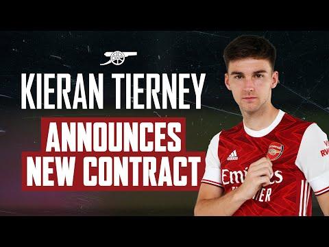 EN VIVO    ¡Kieran Tierney firma un nuevo contrato a largo plazo con el Arsenal!