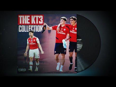 La colección KT3 |  Lo mejor de Kieran Tierney |  Feat Gerry Cinnamon